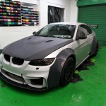3 series gloss red wrap
